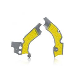Acerbis X-Grip Framebeschermer RMZ250 15-18 Grijs Geel