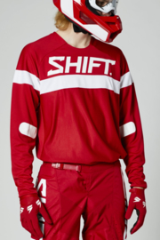 Shift White Label Haut Jersey Red 2021