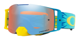 Oakley Frontline High Voltage Blue Yellow Prizm Mx Sapphire Iridium Lens
