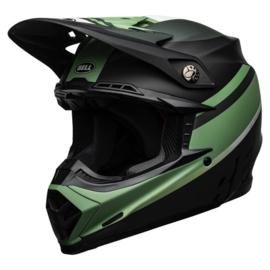 Bell Moto-9 Mips Prophecy Matte Black/Dark Green