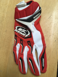 Kenny Titanium Glove Red White