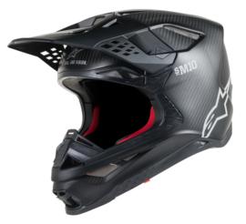 Alpinestars Supertech S-M10 Solid Helmet Black Matte Carbon