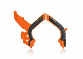 Acerbis X-Grip Framebeschermer SX/SX-F 19-20 Oranje Zwart