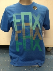Fox Dalton Slim Fit Heather Blue T-shirt