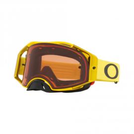 Oakley Airbrake Mx Moto Yellow w/Prizm Bronze