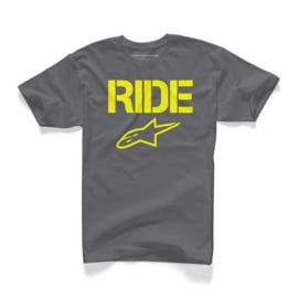 Alpinestars Ride Solid Tee Charcoal