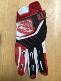 Kenny Titanium Glove Red White Black