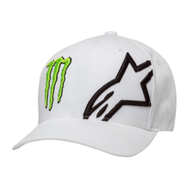 Alpinestars Monster Corp White Flexfit Cap S/M