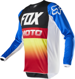 Fox 180 Fyce Jersey Blue Red Youth 2020