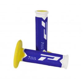 Pro Grip 788 Triple Layer White Blue Yellow