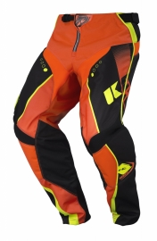 Kenny Track Pant Youth Black Neon Orange 2017