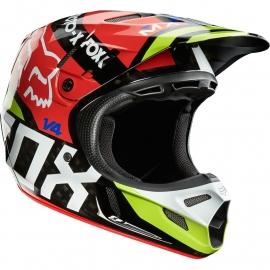 Fox V4 Intake Helmet Maat S