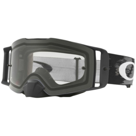 Oakley Frontline Matte Black Speed Clear Lens