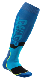 Alpinestars Mx Plus-2 Sokken Blue Cyan