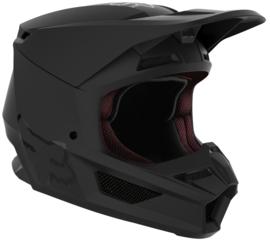 Fox V1 Helmet Matte Black 2022 Youth