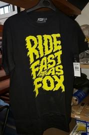 Fox Liquify SS Tee BLK Jeugd