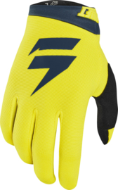 Shift White Label Air Glove Yellow Navy Youth 2019