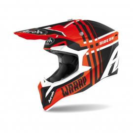 Airoh Wraap Broken Helm Mat Orange