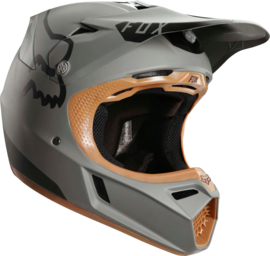 Fox V3 A1 Pyrok Stone Helmet Maat M