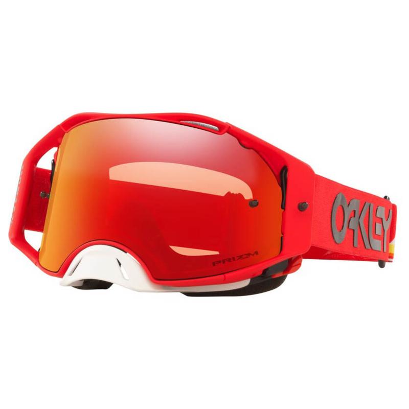 Oakley Airbrake MX Heritage Stripe Red W/Prizm Torch