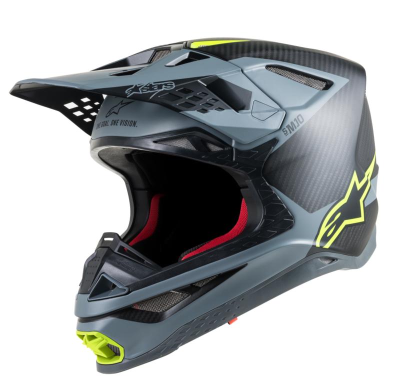 Alpinestars Supertech S-M10 Meta Black Gray Yellow