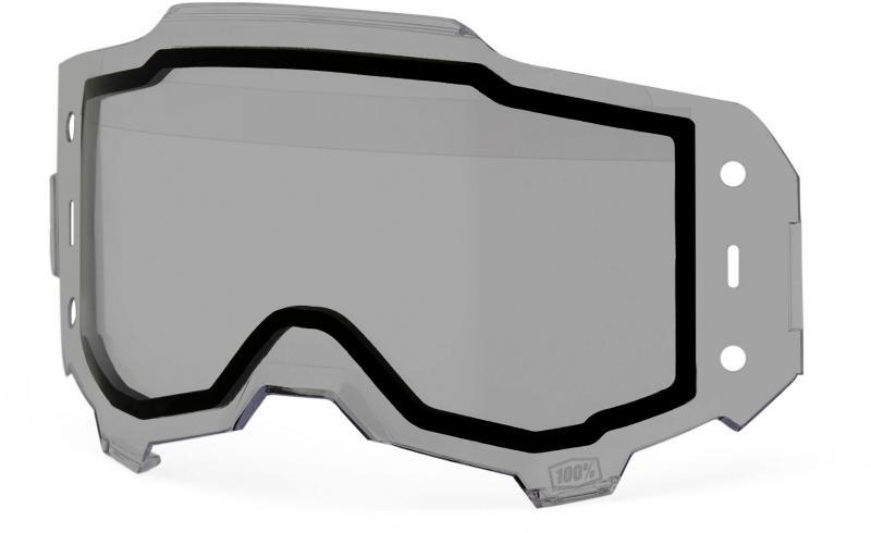 100% Armega Forecast Roll Off Smoke Duallayer Lens