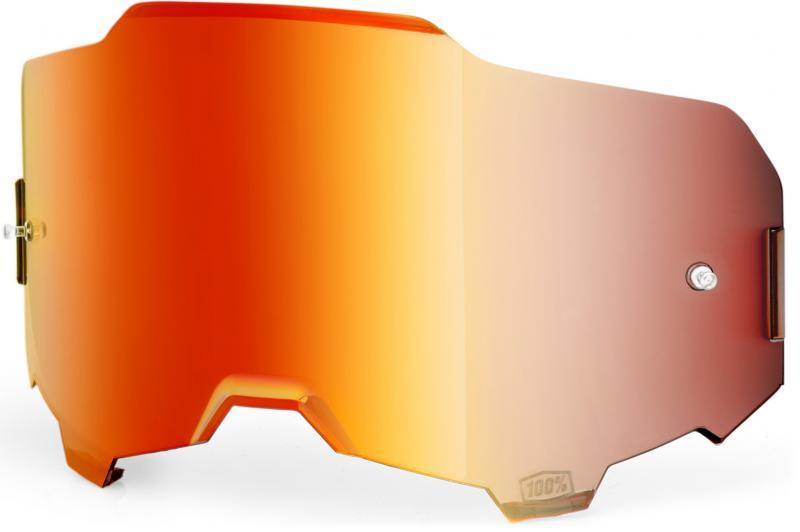 100% Armega Mirror Red Lens