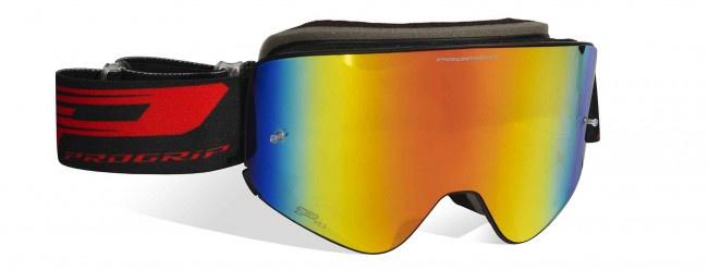 Progrip 3205 Black Matte Red Mirror Multi Lens