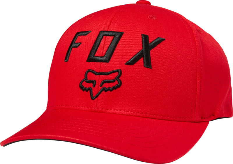 Fox Legacy Moth 110 Snapback Red