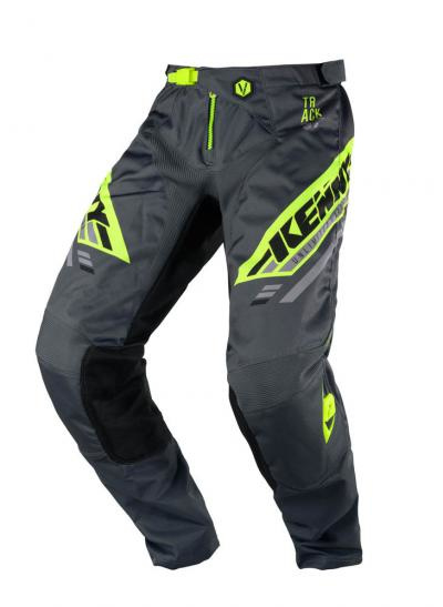 Kenny Track Pant Charcoal Neon Yellow 2020
