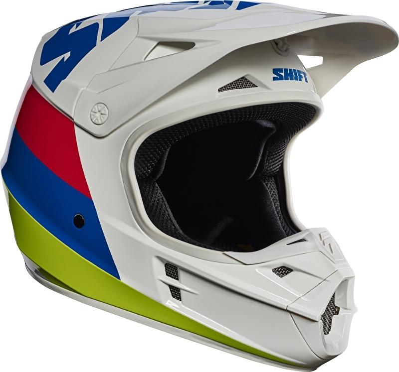 Shift Helm White Label Tarmac White