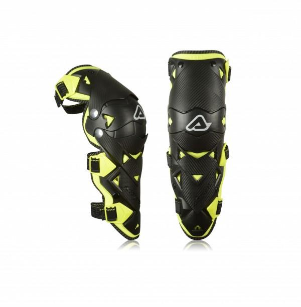 Acerbis Knee Guard Impact EVO 3.0 Black/Yellow