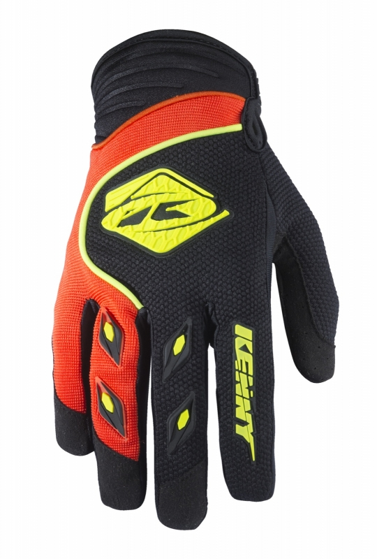 Kenny Track Handschoen Black Orange