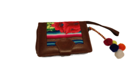 Wallet Square Peru Flower