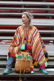 Unique Handwoven Poncho III