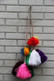 Llama pompoms and tassels
