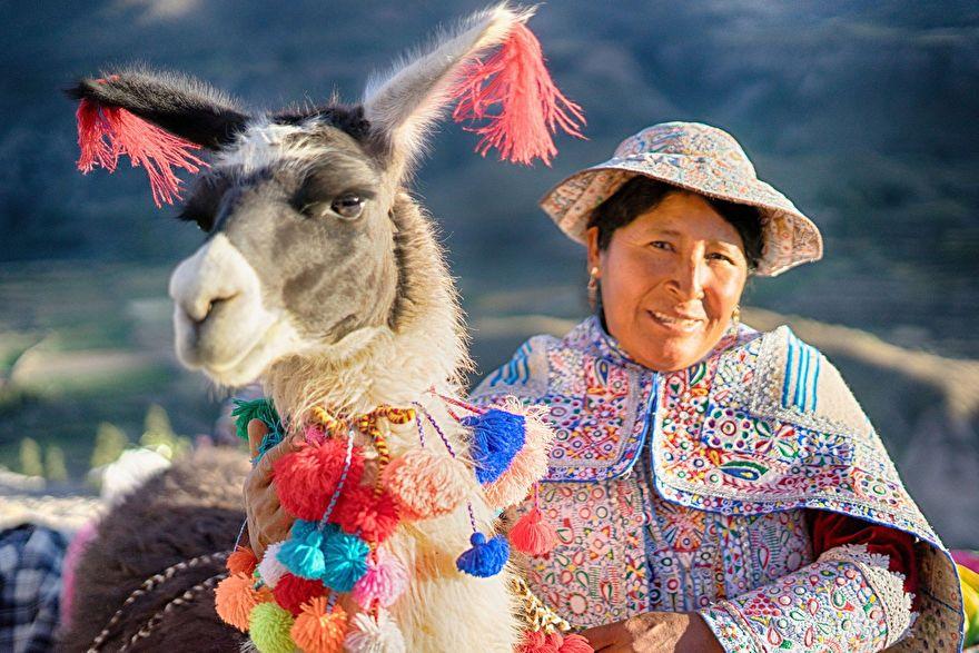 Llama tassels and pompons