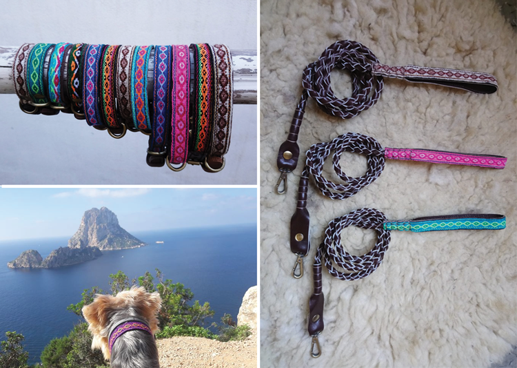 tribal style dog collars