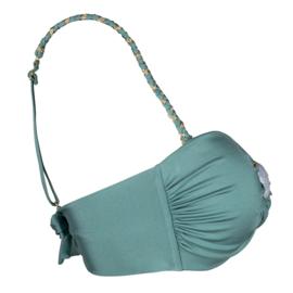 Boho Bikini - Braided Bikini Strap - Sage