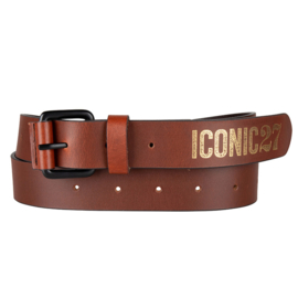 Iconic27 - Leather Belt - Cognac