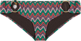 Boho Bikini - Bottom  exclusive aztec low - Dark Taupe