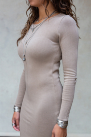 Moost Wanted - Seanna Dress -  Beige