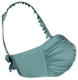 Boho Bikini - Ruffles Bikini Strap - Sage
