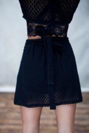 Moost Wanted -  Jolie Wrap Skirt - Black