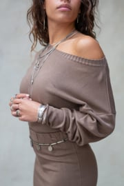 Moost Wanted - Bella Sweater - Ash Brown