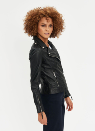 Be Edgy - Leather Jacket - Ina - Black