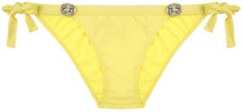 Boho Bikini - Glossy Bottom - Yellow
