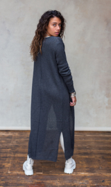 Moost Wanted -Knitted Vest Ayla - Stone Grey