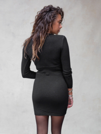 Moost Wanted - Isabel Knitted Dress - Black