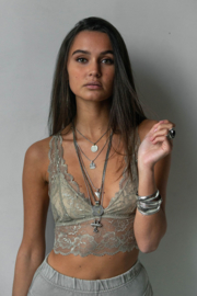 Moost Wanted -  Bralette Top Lilly - Tender Taupe